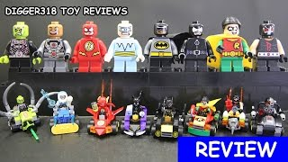 Lego DC SuperHeroes Mighty Micros Sheng Yuan Bootleg SY731 Knockoff Review