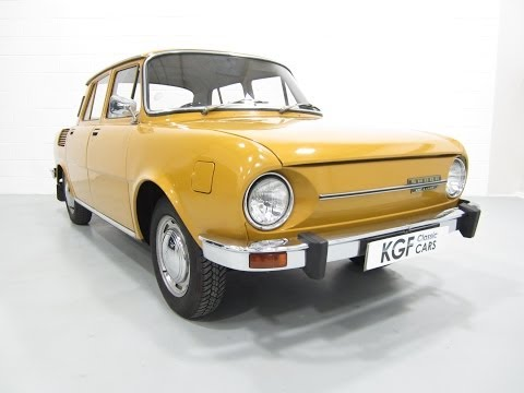 Incredible Skoda 100L Deluxe with Just 20 860 Miles SOLD