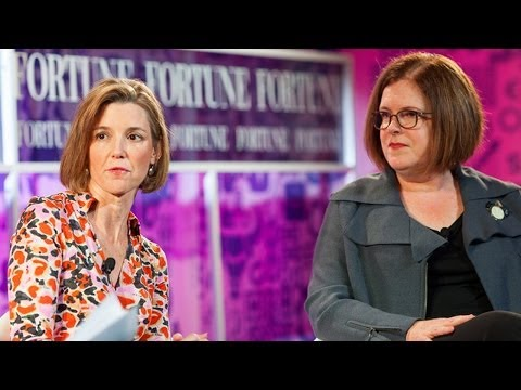 Sallie Krawcheck & Patty Stonesifer on Finding Your Passion Fortune
