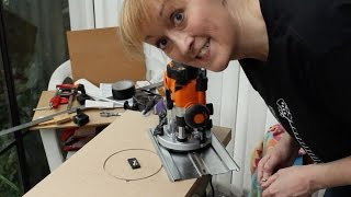 DIY Workmate router table
