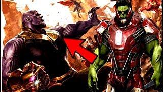 Avengers Infinity War Hulk is Terrified & Afraid Of Thanos WTF!? HULK SMASH! Thanos Vs Hulk