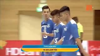 Highlight: Thái Sơn Bắc 8-4 Hoàng Thư Đà Nẵng ( Vòng 3 Futsal VĐQG 2018)