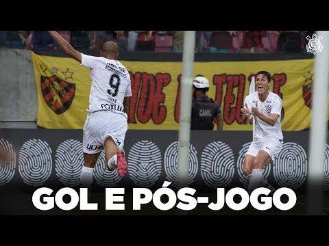 Gol e Pós Jogo - Sport 1x1 Corinthians - Brasileirão 2018