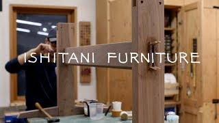 ISHITANI - Making a Walnut Trestle Table