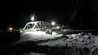 Move of Salmon River Bridge - Hwy 97, North of Prince George