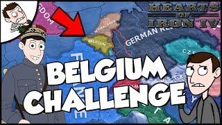 Hearts of Iron 4 HOI4 Democratic Belgium Survival Challenge