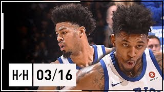 Quinn Cook & Nick Young Full Highlights Warriors vs Kings (2018.03.16) - 41 Pts Combined
