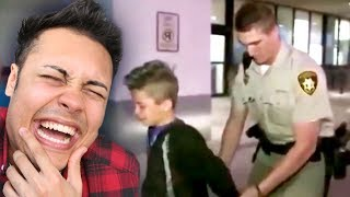 REACTING TO KIDS GETTING ARRESTED