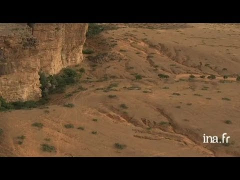 Mali : falaise de Bandiagara, habitat dogon