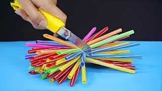 6 Awesome life hacks with straws