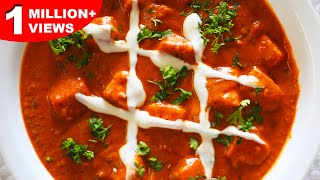 Paneer Butter Masala | Authentic North Indian Main Course Recipe | Paneer Masala Recipe
