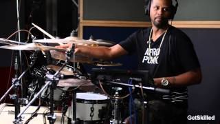 Lil' John Roberts Breaks Down Prince's 777-9311 on Drums - GetSKilled