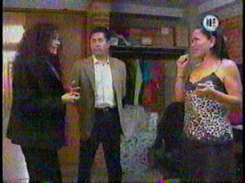 Leticia López en Ya cayó desde el musical Mentiras