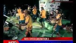 GREENATHON - LA PONGAL BAND PERFOMANCE - 7 (10) - NDTV HINDU