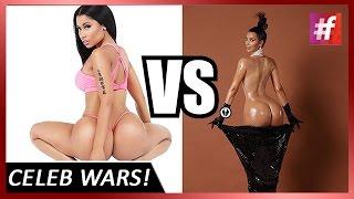 #fame hollywood - Nicki Minaj calls Kim Kardarshian a Copycat and a Wannabe