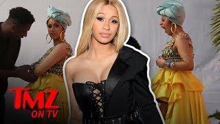 Cardi B Is All Puffed Up! | TMZ TV