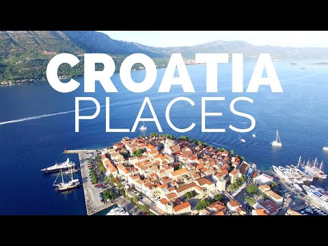 10 Best Places to Visit in Croatia Travel Video