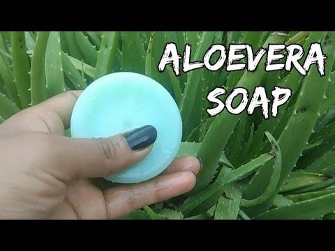 Make Aloe Vera Soap At Home Naturally Homemade Aloe Vera Soap