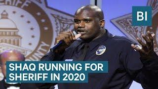 Shaq Will Run For Sheriff In 2020