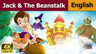 Jack and The Beanstalk in English - Bedtime Story For Children - Kids Stories - English Fairy Tales