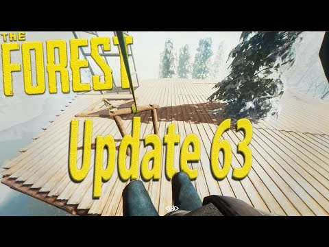 ►NEW ZIPLINE(s) AND CRANES! Birdhouse, Chandelier, Fireplace, & More! Update V0.63  | The Forest
