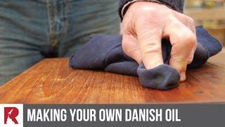 Making your own Danish Oil - Rocket Design Furniture