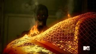 Teen Wolf Season 5 Episode 11 - The Last Chimera Final Scene - The Hellhound