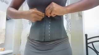 Ann Cherry Latex waist cincher