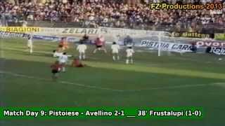 Serie A 1980/1981: US Pistoiese All Goals