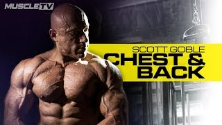 Back & Chest Superset Session | Scott Goble | MUSCLE TV