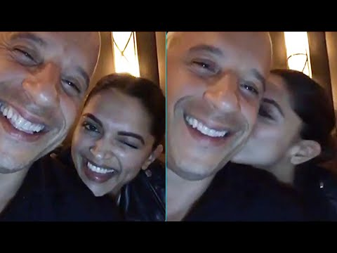 (Video) Deepika Padukone Teaches Vin Diesel Hindi | XxX Return Of Xander Cage