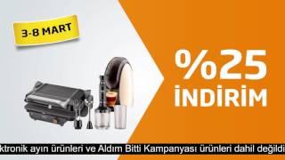 Elektrikli küçük ev aletlerinde ve elektrikli kişisel bakım ürünlerinde %25 indirim Migros