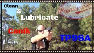How To Disassemble, Clean & Lubricate A Canik TP9SA Pistol (HD)