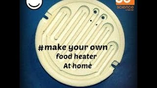 How To Make Heater At Home| Make Your Own Food| Awesome Viedo