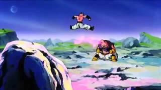Majin Buu Vs Super Buu Full Fight!!