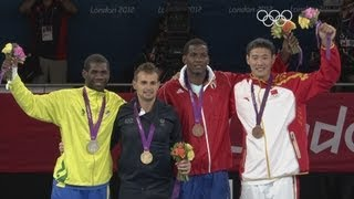Carlo Molfetta v Anthony Obame -- Taekwondo Gold 80kg Final -- London 2012 Olympics