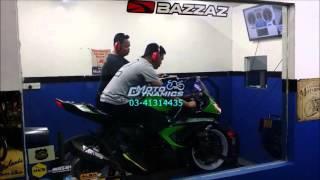 Kawasaki ZX6R 636 Bazzaz Tuning, Yoshimura R11 Topspeed 280km/h - Motodynamics Technology Malaysia