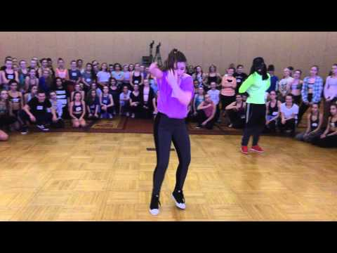 Young girl (special talent ) inspires all- Willdabeast Adams- Wacka Flacka No Hands class-