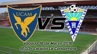 19/03/2016 Fútbol Segunda B, UCAM MURCIA vs Marbella