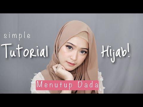 Download Lagu SIMPLE HIJAB TUTORIAL MENUTUP DADA | SARITIW MP3