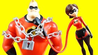 Incredibles 2 Toys With Chain Bustin
