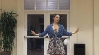 Amoozesh raghse Irani- Aroose Mahtab- Session 5 - 5 آموزش رقص ایرانی عروس مهتاب جلسه