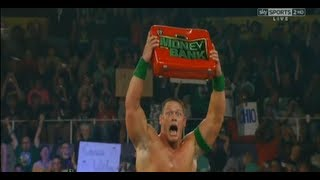 John Cena Wins The Money In The Bank Ladder Match - WWE Money In The Bank 2012 PPV Review