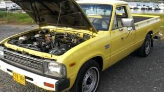 1982 TOYOTA PICK UP 2.2L DIESEL, 5 SPD, RUST FREE