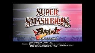 Wii Longplay [005] Super Smash Bros. Brawl