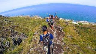 Manini Pali Hike, Mokuleia, Oahu, Hawaii (GoPro Session)
