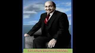 Rafi Magical Voice -Chanda Ko Doondne Sabhi Tare Nikal Pade- RAFIARUNGAUTAM