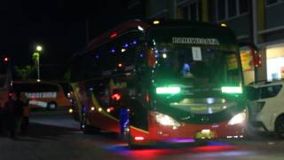 Klakson Telolet dan Ke Eksotisan bus Bulan Jaya.