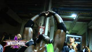 Take a special behind the scenes look at WrestleMania 30