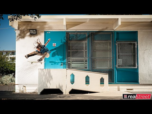 Neen Williams   X Games Real Street 2017